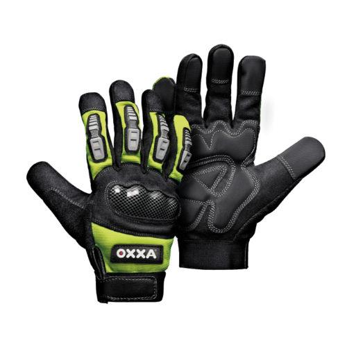 Werkhandschoen oxxa mechanic groen 15162000